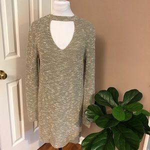 Francesca's Alya l Sweater Dress Tunic